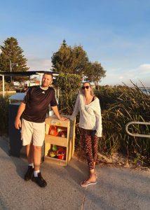 OT week charity work - Beach Toy Library